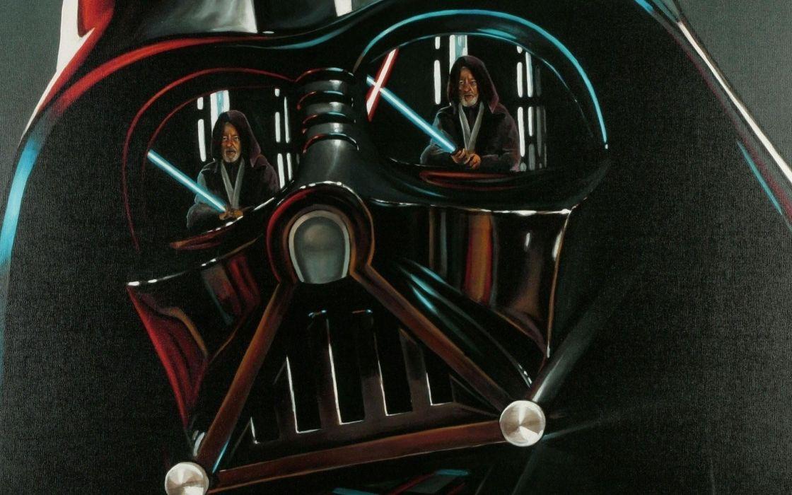 Star Wars Darth Vader Obi Wan Kenobi Wallpaper 1920x1200 254697 Wallpaperup