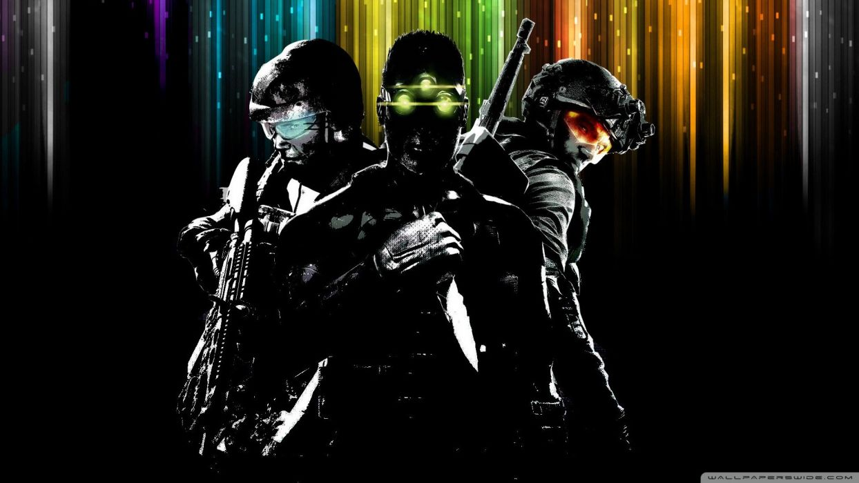 splinter cell ghost recon sam fisher tom clancy rainbow six: vegas