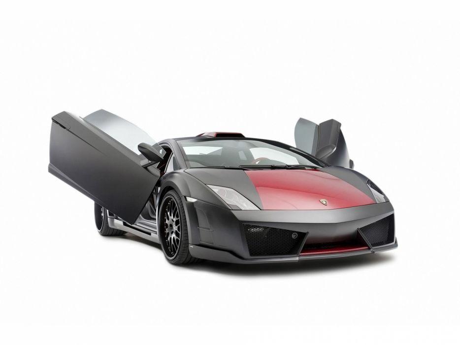 Cars Lamborghini Gallardo Hamann Open Doors Hamann Victory Ii