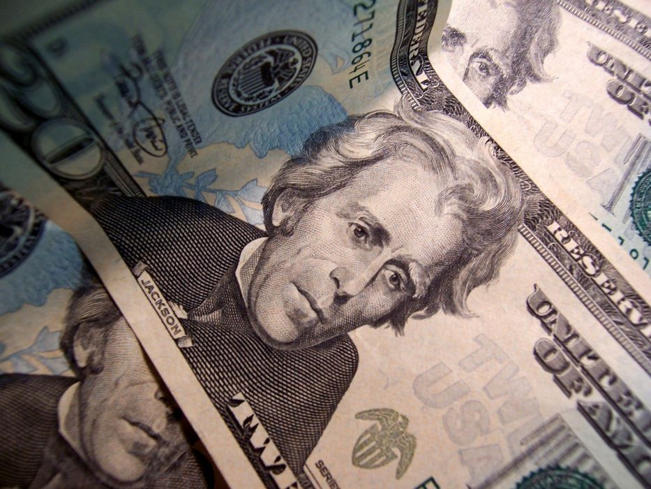 Andrew Jackson currency wallpaper
