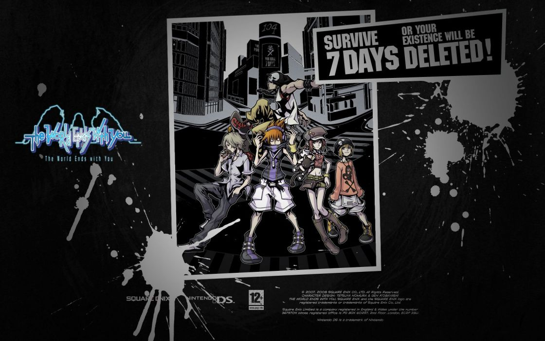 The World Ends With You Wallpaper 1680x1050 254773 Wallpaperup