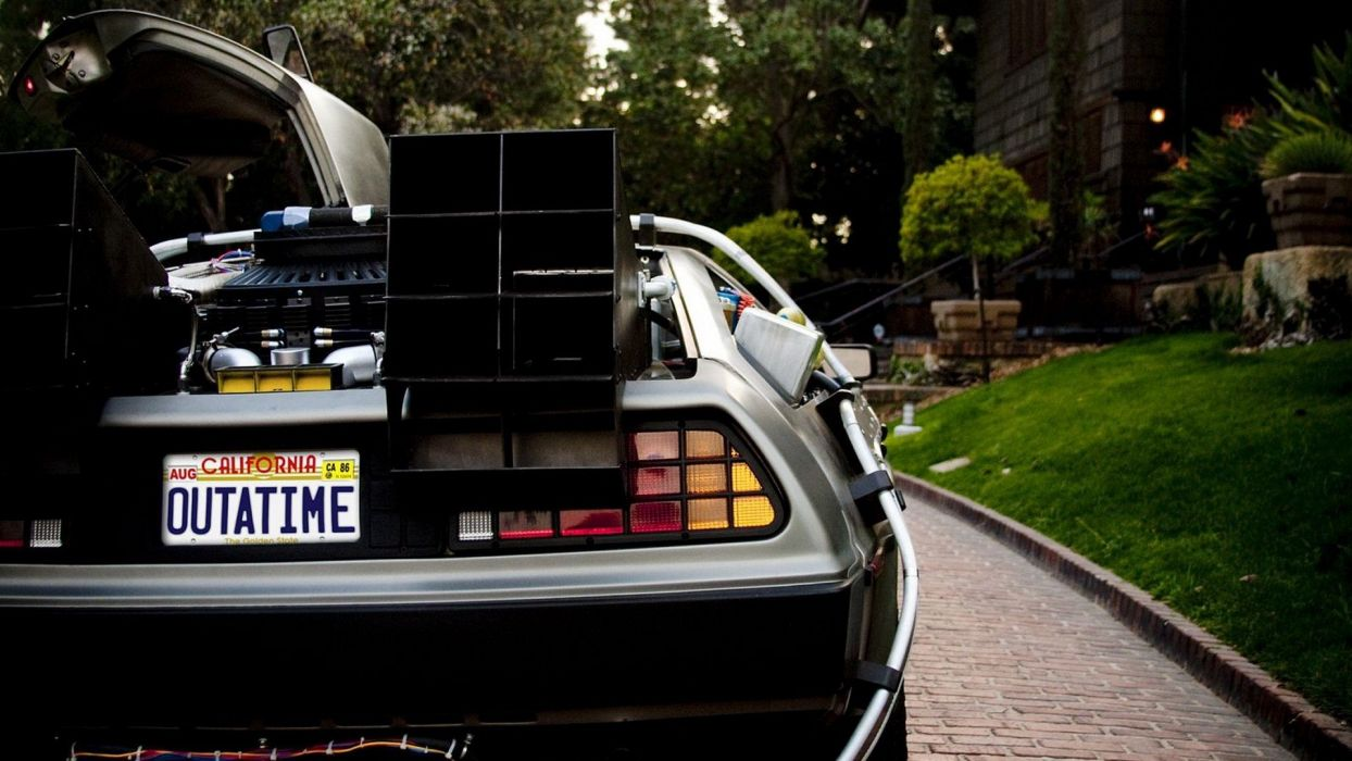 DeLorean Back to the Future DeLorean DMC-12 wallpaper
