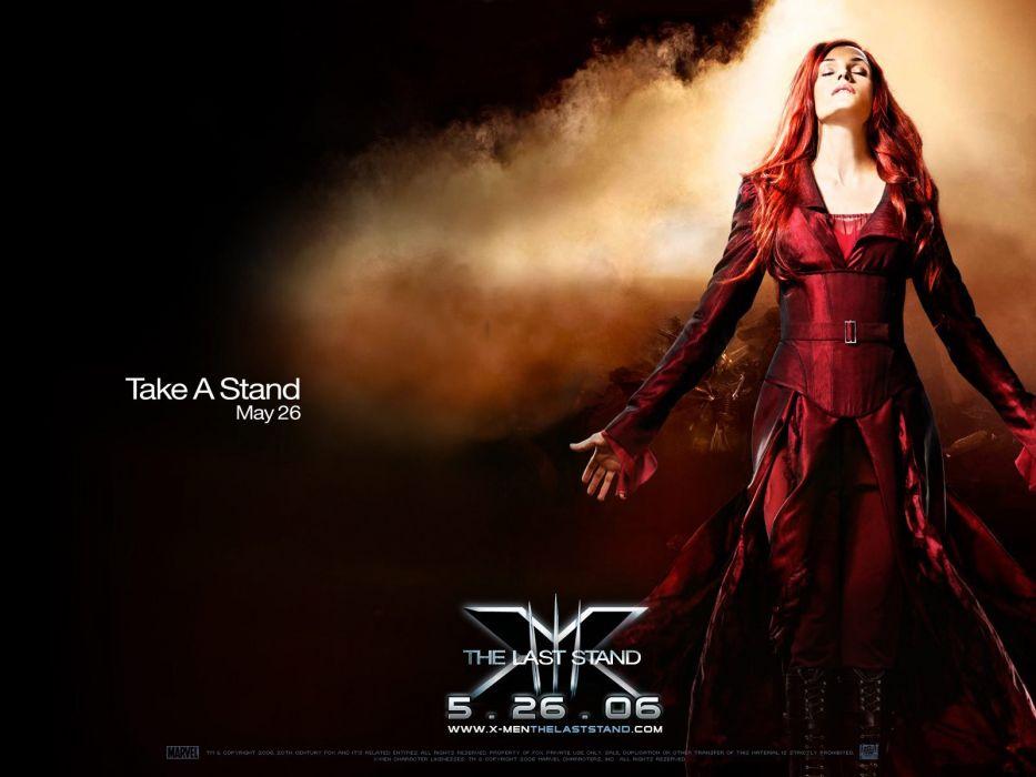 X-Men Famke Janssen X-Men: The Last Stand Dark Phoenix wallpaper