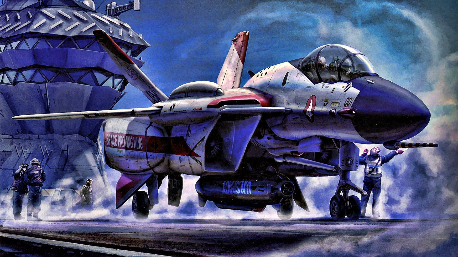 Macross jet aircraft wallpaper 1920x1080 254902 - Wallpapers robotech 3d ...