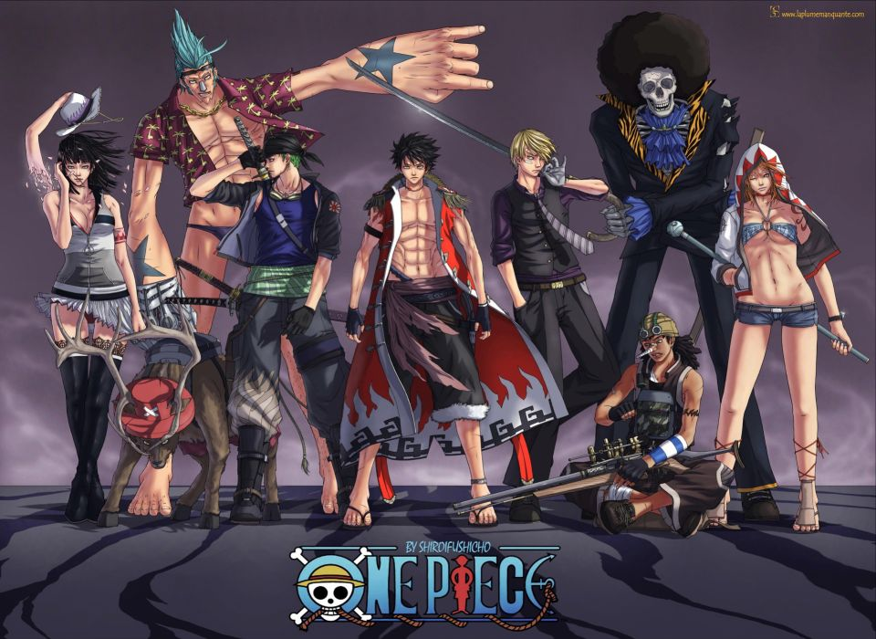 Robin One Piece (anime) Zorro Franky (One Piece) Tony Tony Chopper Brook (One Piece) Strawhat pirates Monkey D Luffy Nami (One Piece) Usopp Sanji (One Piece) wallpaper