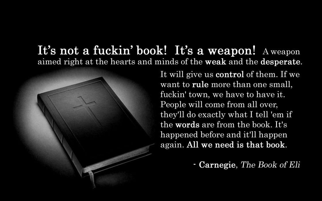 Quotes weapons bible books the book of eli wallpaper 1920x1200 quotes weapons bible books the book of eli wallpaper publicscrutiny Image collections
