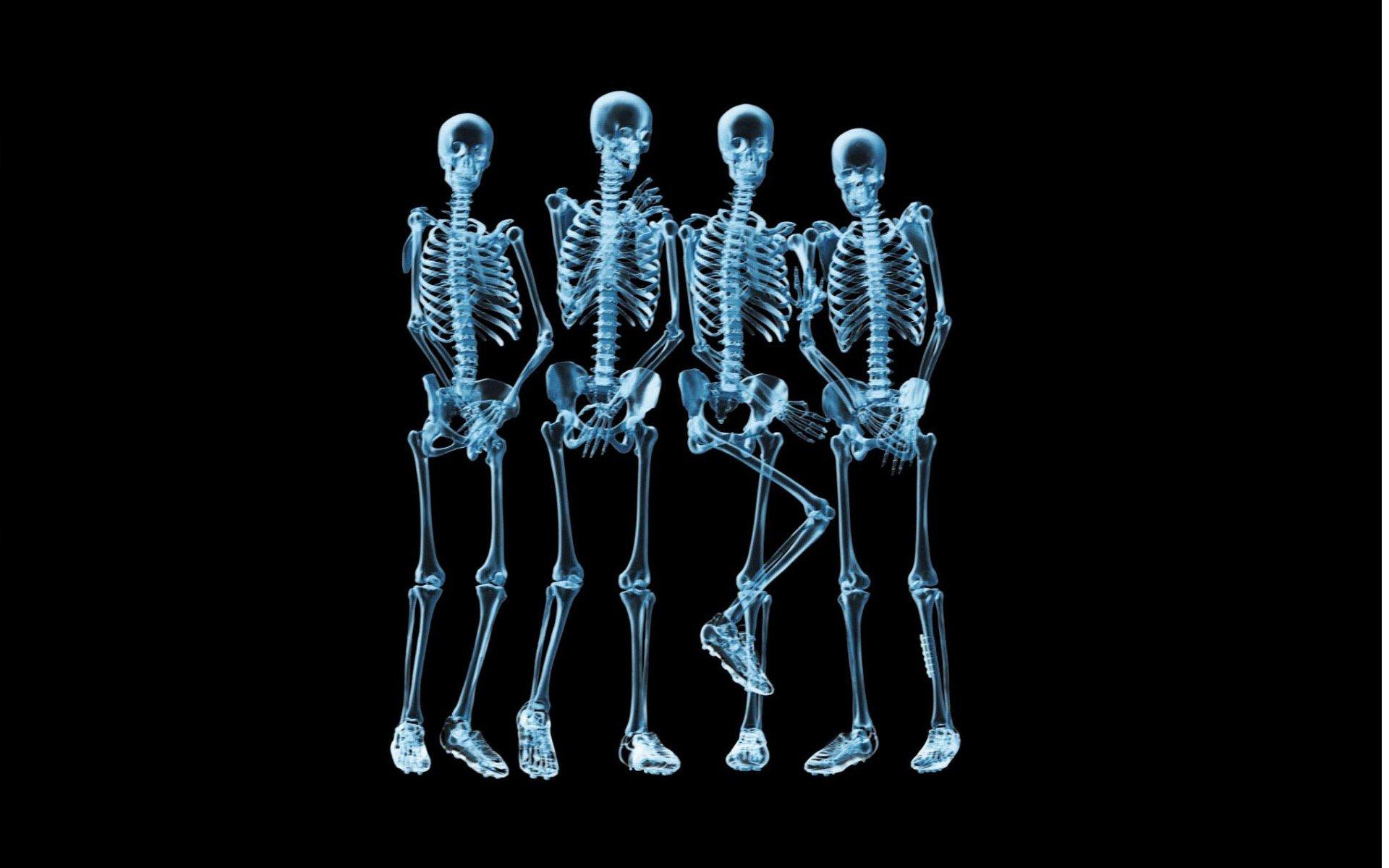 X ray skeleton wallpaper