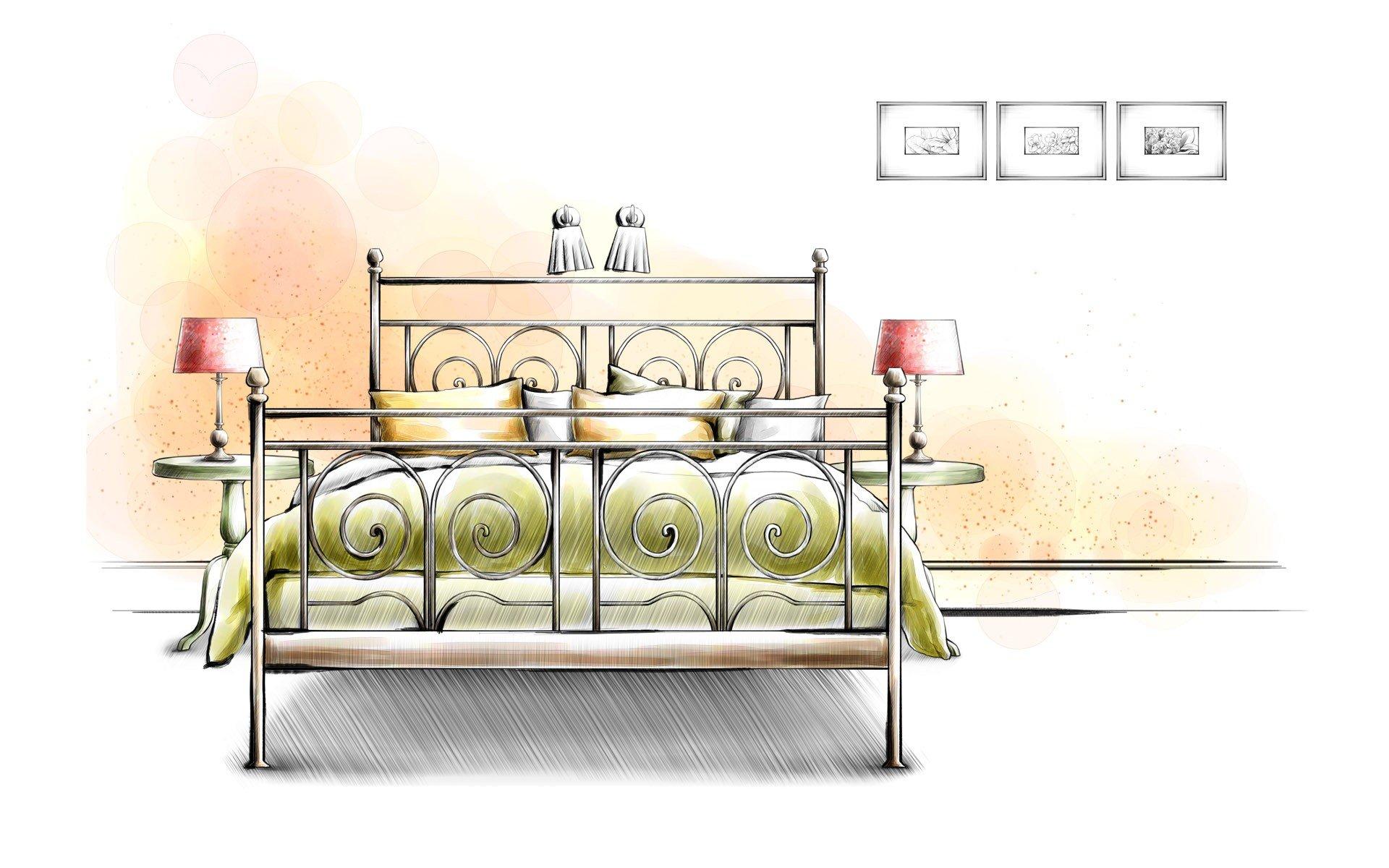 Design interior furniture drawings wallpaper 1920x1200 for Interior designs drawings