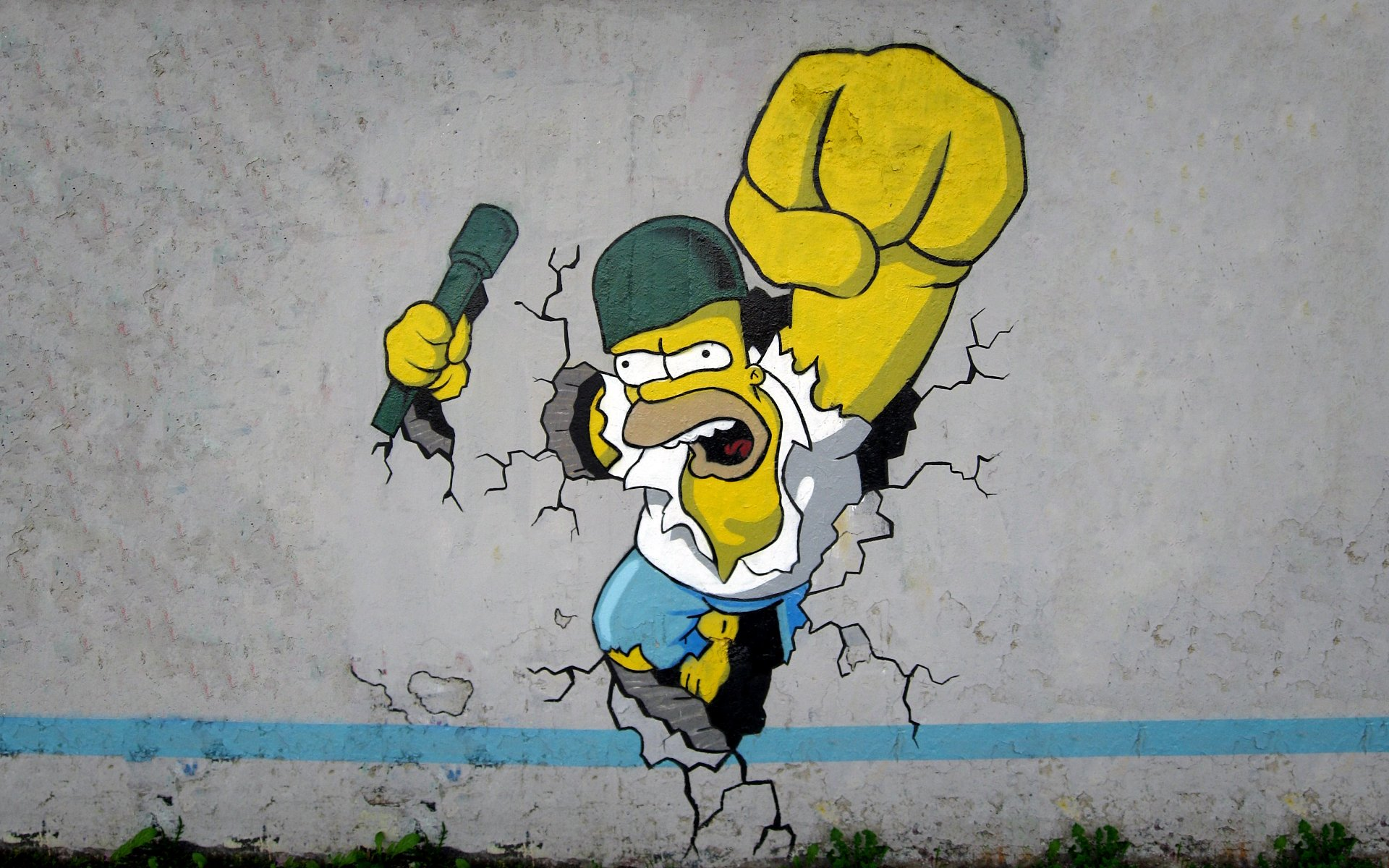 homer simpson the simpsons wallpaper 1920x1200 255706