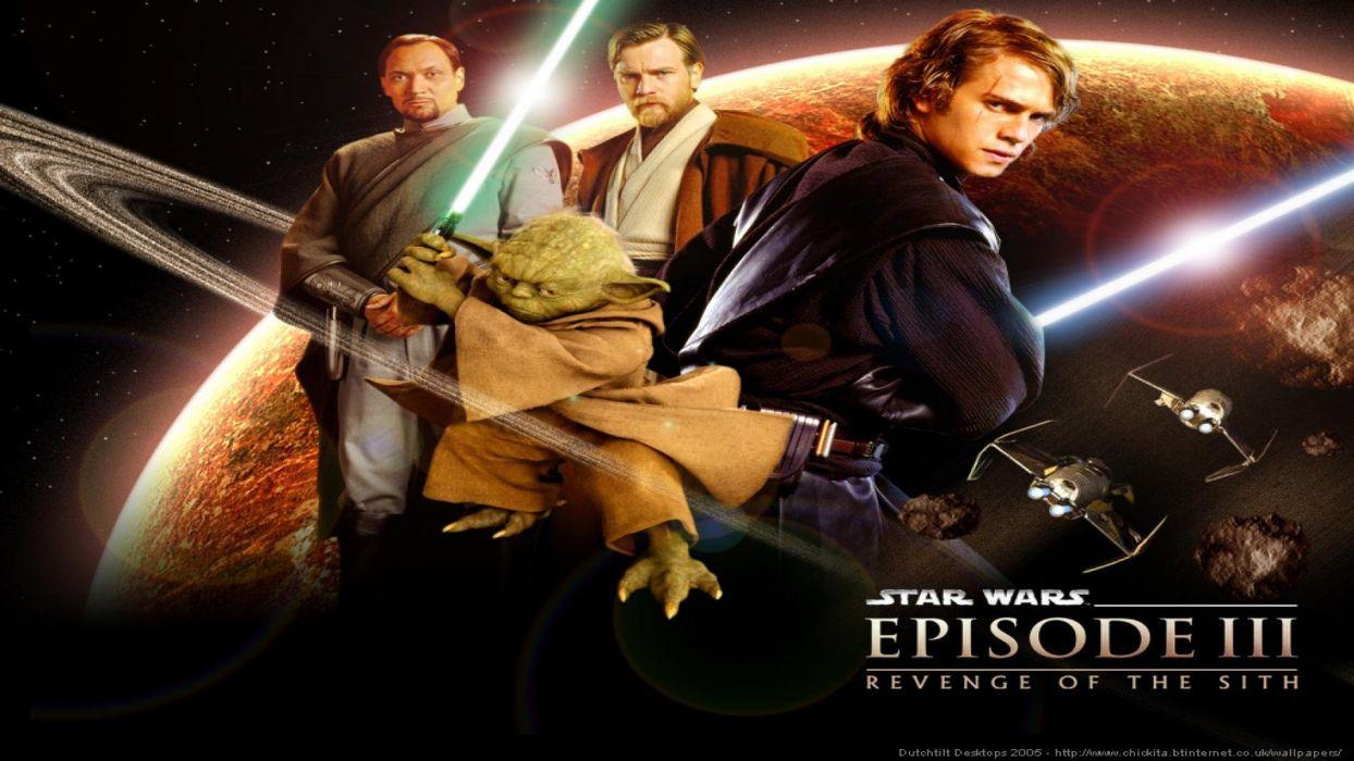 Star Wars Revenge Sith Sci Fi Futuristic Action Movie Film 1 Wallpaper 1920x1080 255805 Wallpaperup