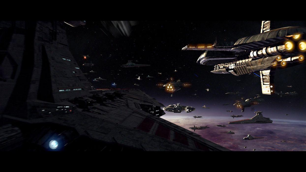 STAR WARS REVENGE SITH Sci-fi Futuristic Action Movie Film