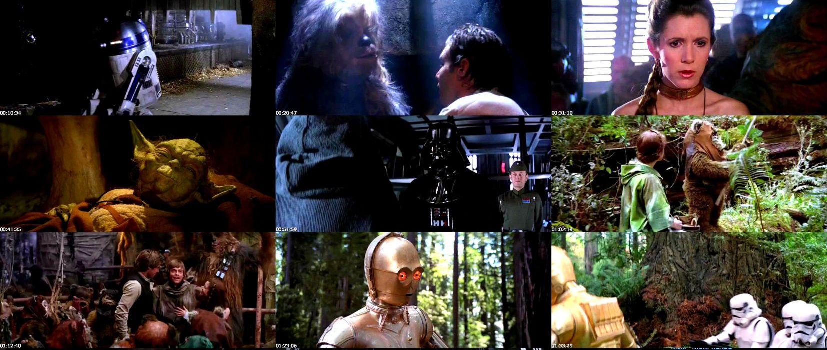 Star Wars Return Jedi Sci Fi Futuristic Movie Film 19 Wallpaper 2159x914 255923 Wallpaperup
