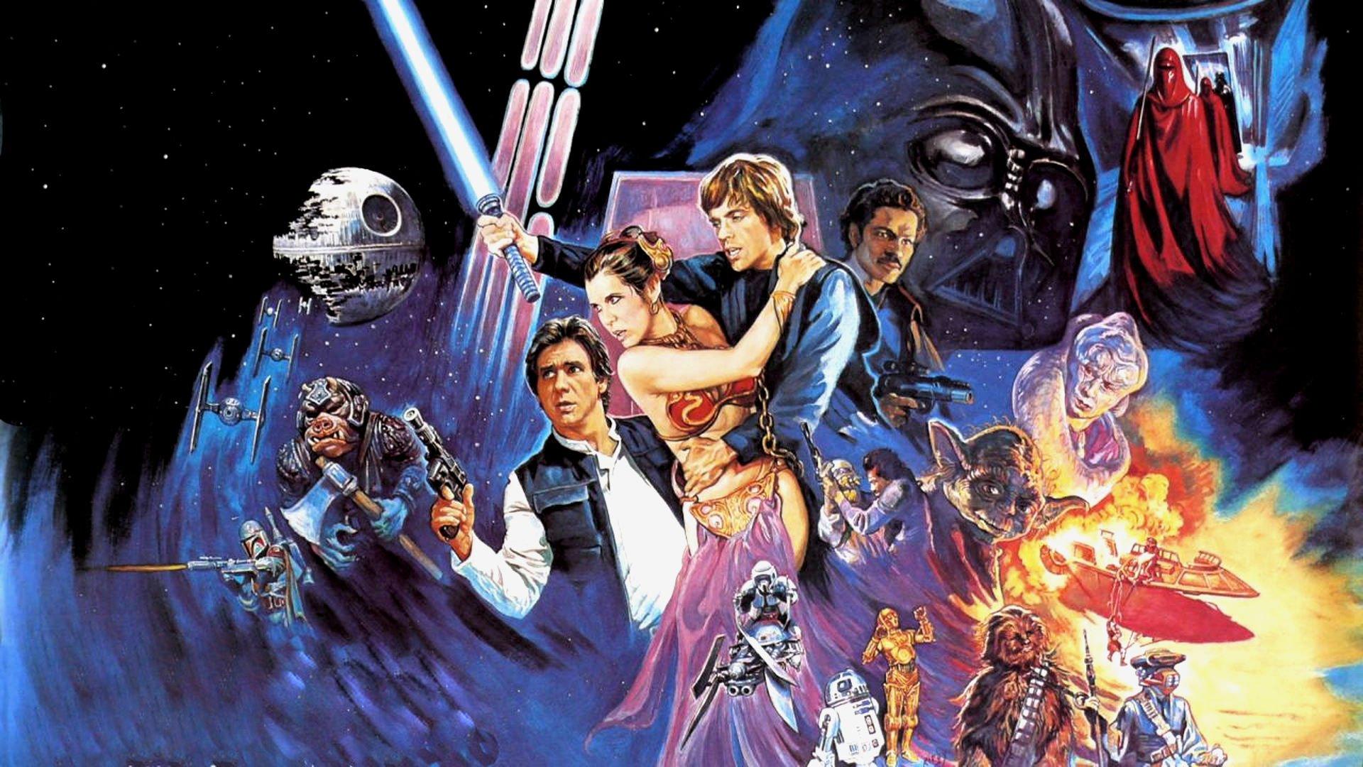 Star Wars Return Jedi Sci Fi Futuristic Movie Film 27 Wallpaper