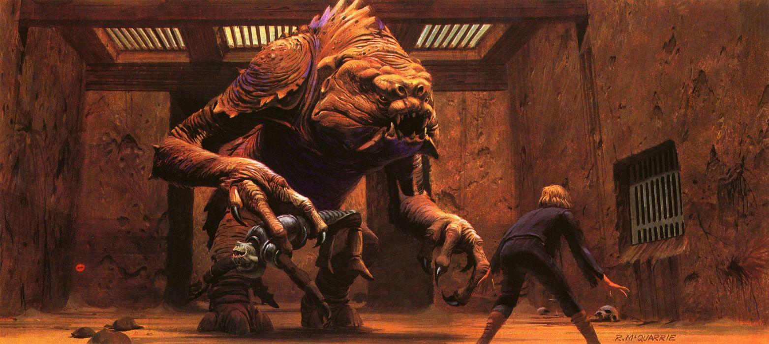 Star Wars Return Jedi Sci Fi Futuristic Movie Film 33