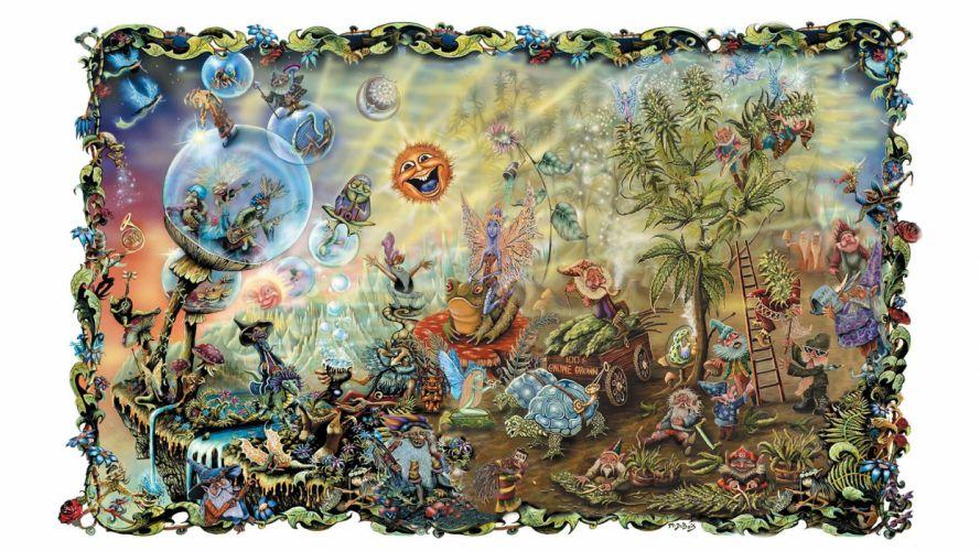 drugs psychedelic artwork wallpaper