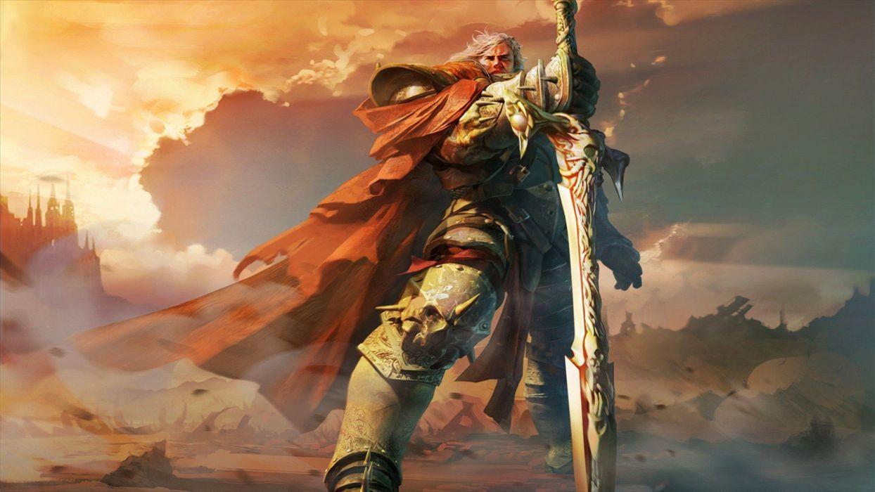 fantasy art warriors wallpaper