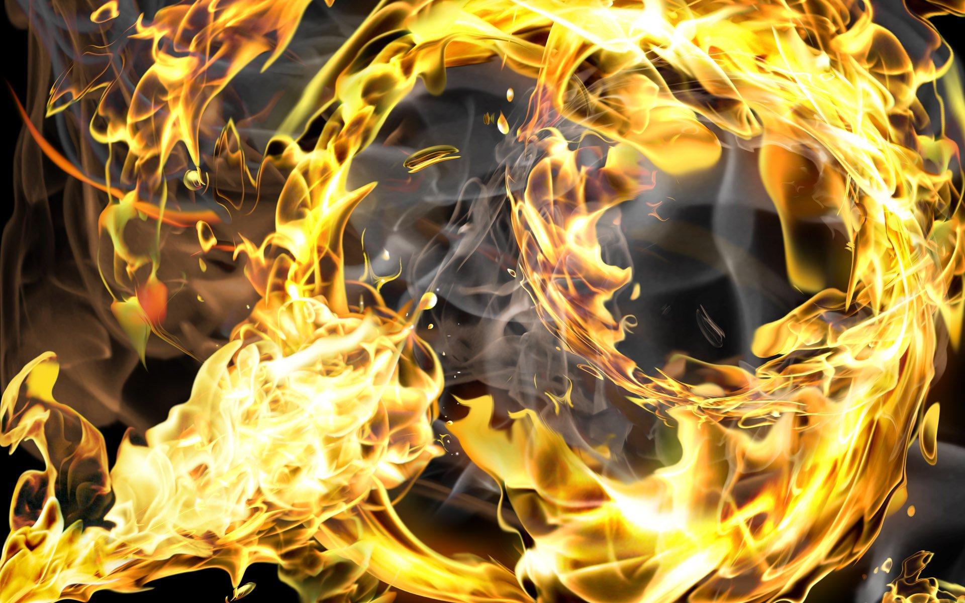 Cool Fire Wallpaper