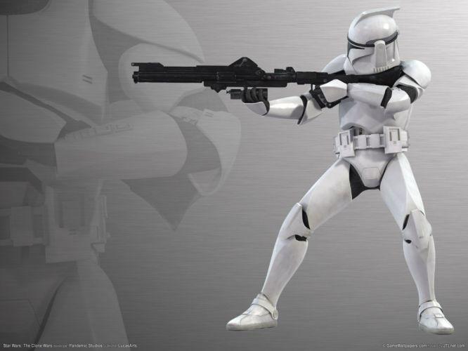 STAR WARS CLONE WARS animation sci-fi cartoon futuristic television clones series (34) wallpaper