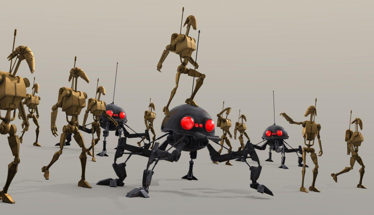 STAR WARS CLONE WARS animation sci-fi cartoon futuristic television clones series (55) wallpaper