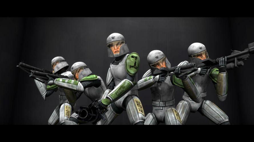 STAR WARS CLONE WARS animation sci-fi cartoon futuristic television clones series (106) wallpaper