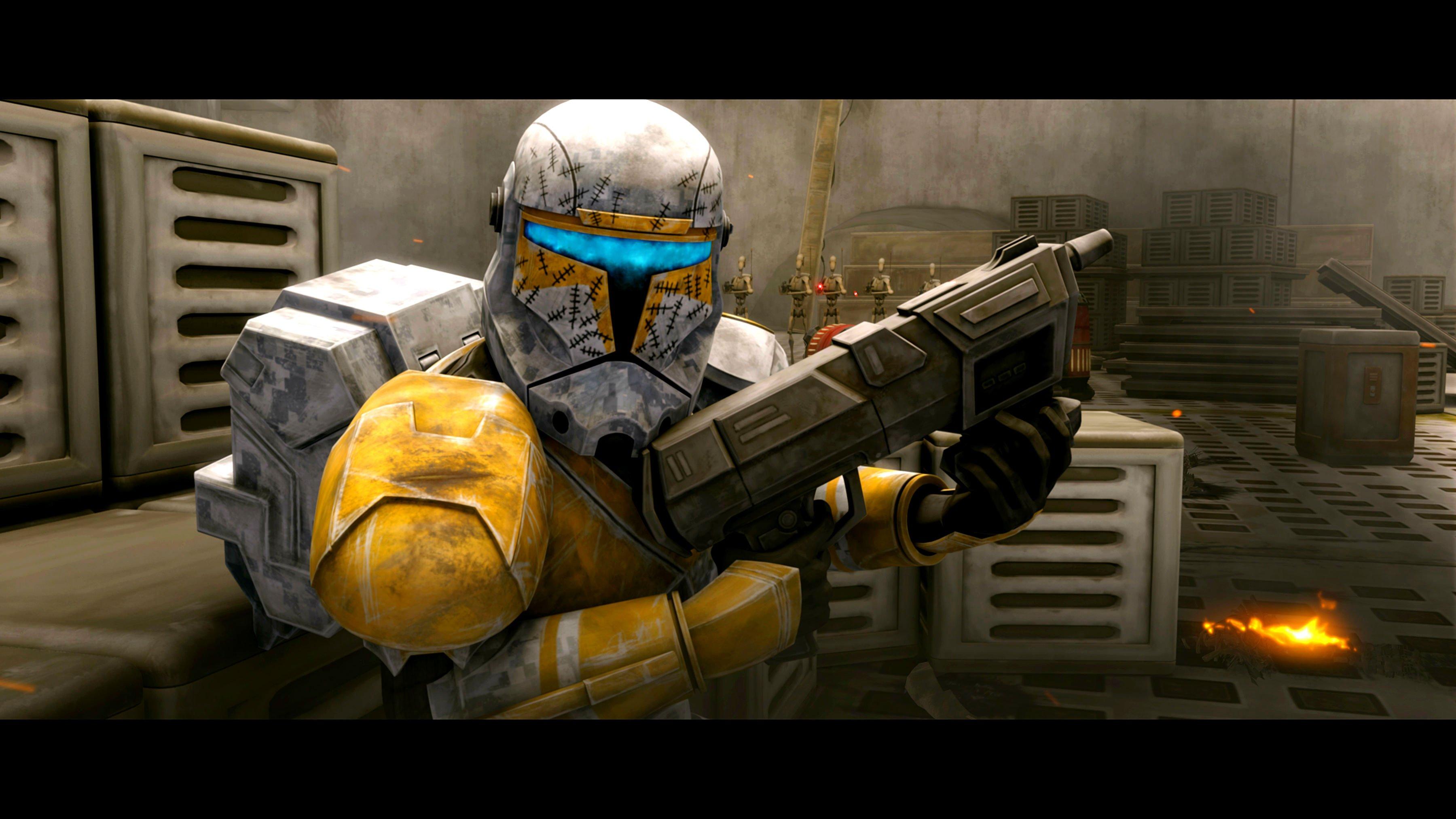 Sci Fi Clone : Star wars clone animation sci fi cartoon futuristic