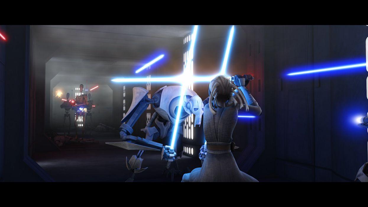 STAR WARS CLONE WARS animation sci-fi cartoon futuristic television clones series (21) wallpaper