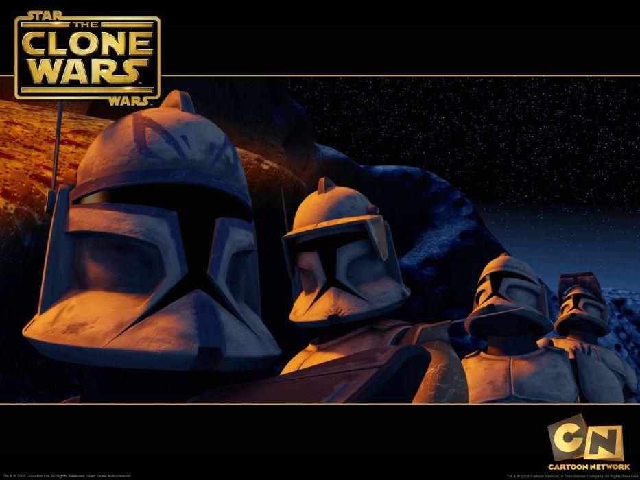 STAR WARS CLONE WARS animation sci-fi cartoon futuristic television clones series (24) wallpaper
