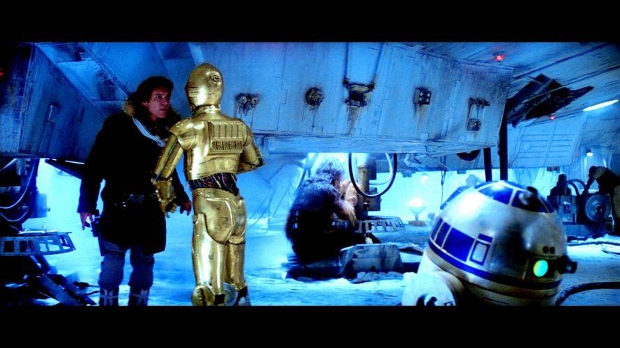 STAR WARS EMPIRE STRIKES BACK sci-fi futuristic movie film action (2) wallpaper