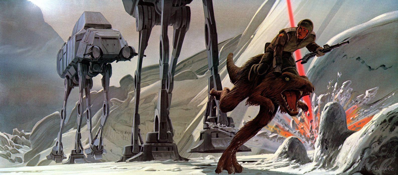 STAR WARS EMPIRE STRIKES BACK sci-fi futuristic movie film action (12) wallpaper
