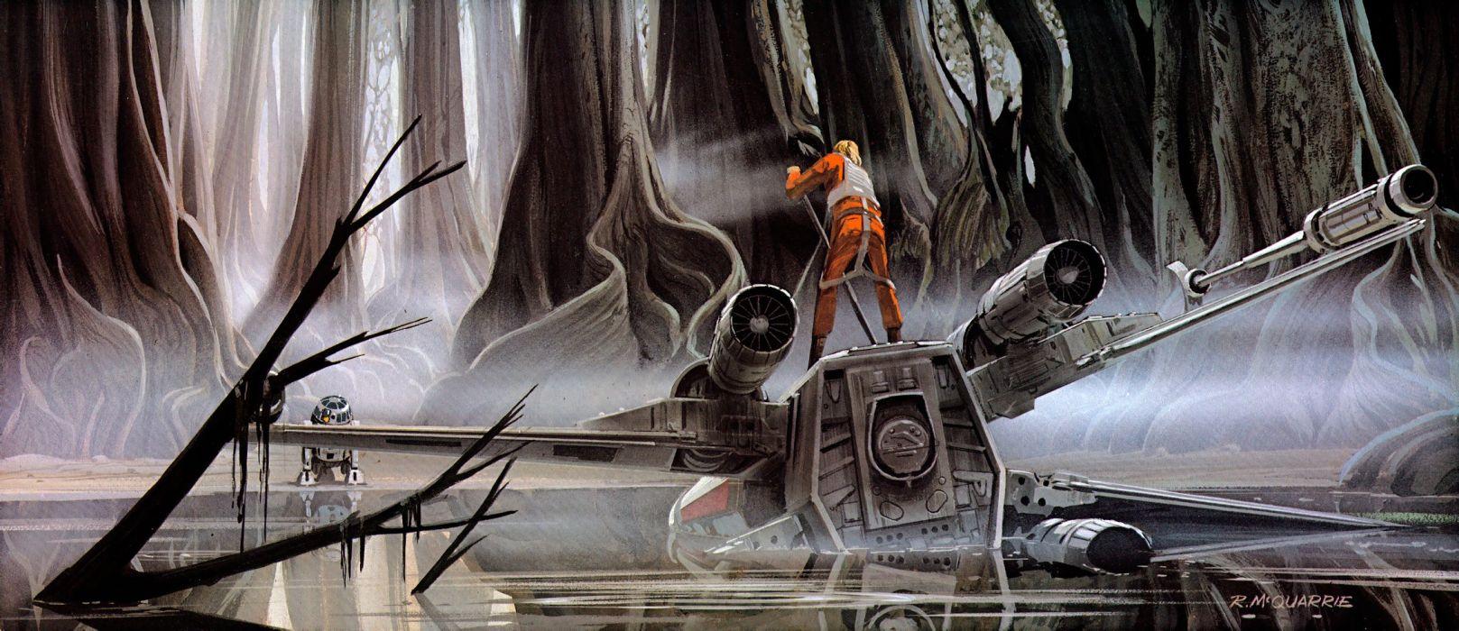 STAR WARS EMPIRE STRIKES BACK sci-fi futuristic movie film action (14) wallpaper