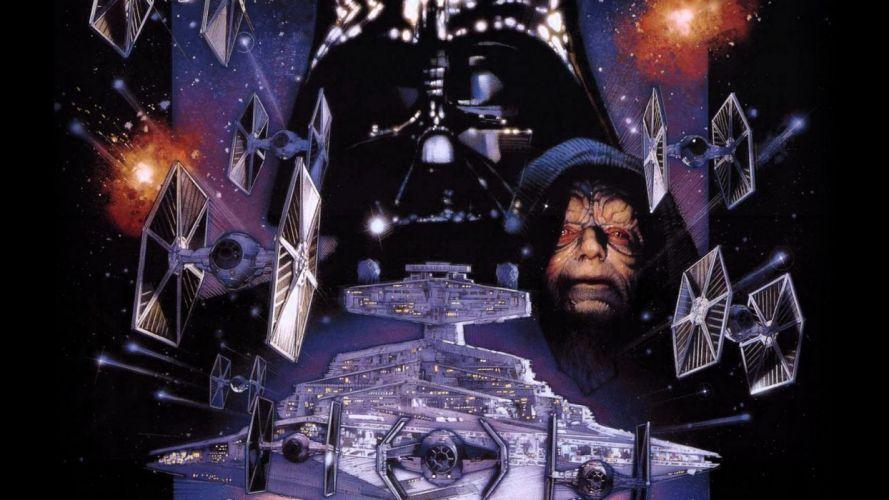 STAR WARS EMPIRE STRIKES BACK sci-fi futuristic movie film action (26) wallpaper