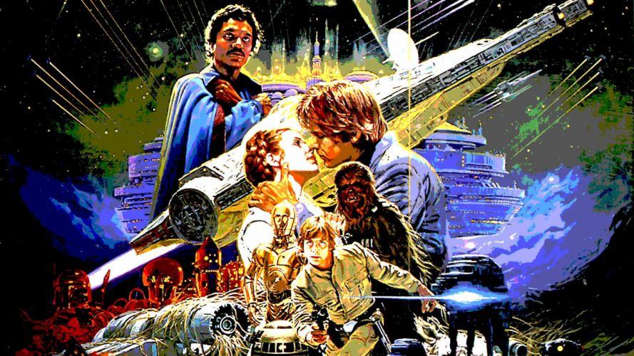 STAR WARS EMPIRE STRIKES BACK sci-fi futuristic movie film action (38) wallpaper