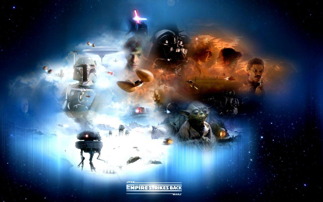 STAR WARS EMPIRE STRIKES BACK sci-fi futuristic movie film action (40) wallpaper