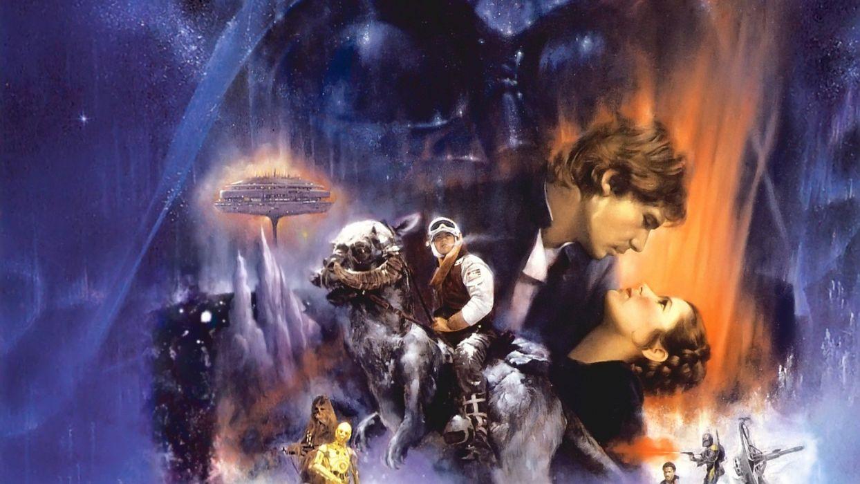 STAR WARS EMPIRE STRIKES BACK sci-fi futuristic movie film action (49) wallpaper