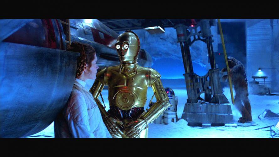 STAR WARS EMPIRE STRIKES BACK sci-fi futuristic movie film action (73) wallpaper
