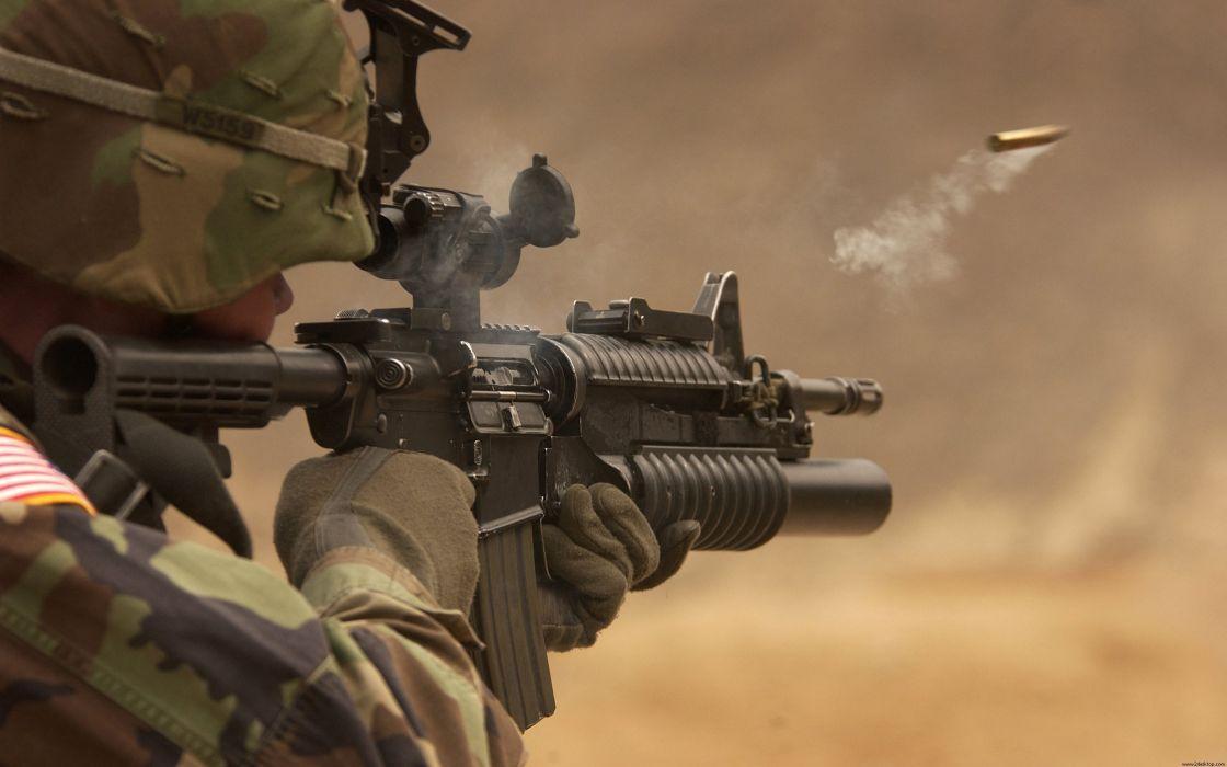 M14 A1 Fire wallpaper