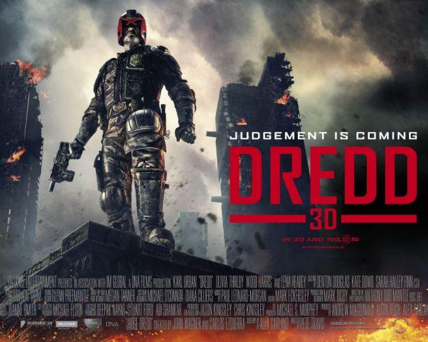 DREDD sci-fi action superhero judge (1) wallpaper