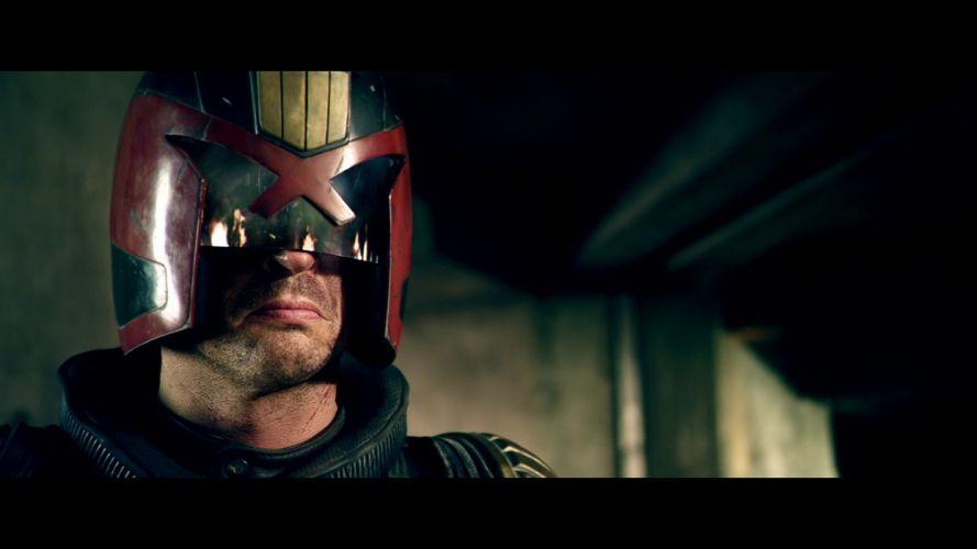 DREDD sci-fi action superhero judge (2) wallpaper