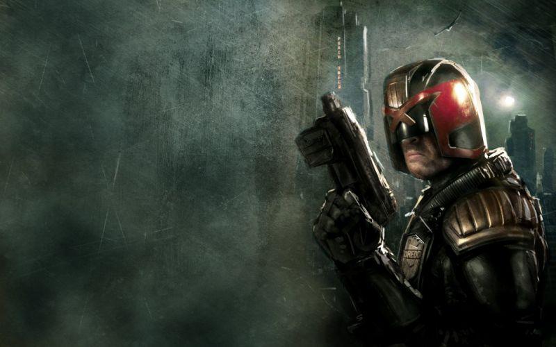 DREDD sci-fi action superhero judge (3) wallpaper