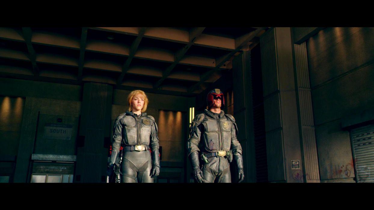 DREDD sci-fi action superhero judge (9) wallpaper