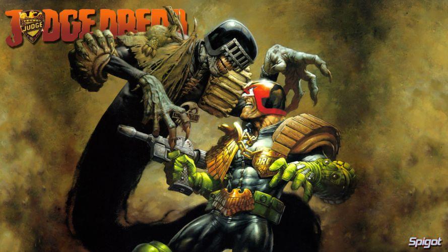 DREDD sci-fi action superhero judge (14) wallpaper
