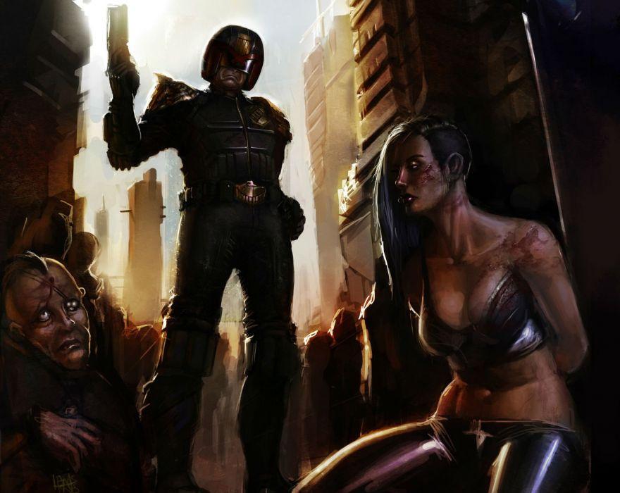 DREDD sci-fi action superhero judge (24) wallpaper