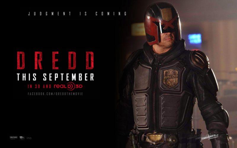 DREDD sci-fi action superhero judge (40) wallpaper