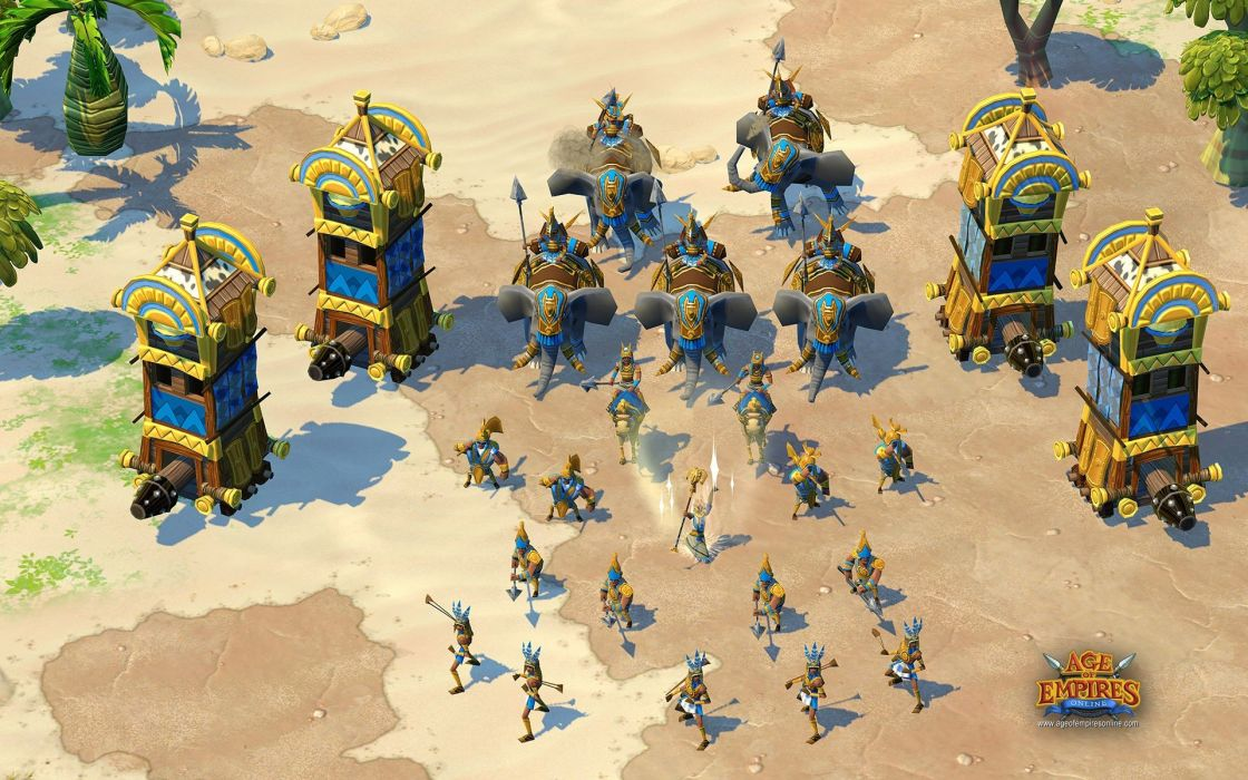 video games Age Of Empires online games game wallpaper