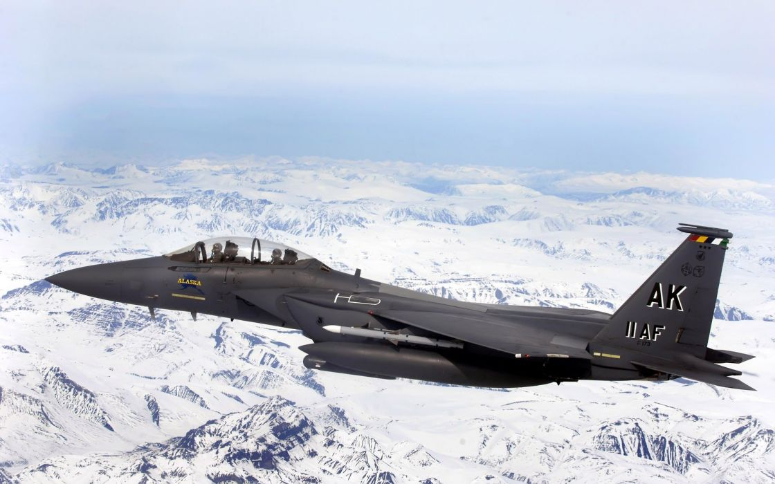 aircraft military F-15 Eagle wallpaper