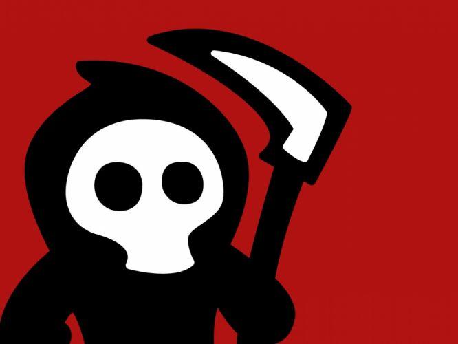 cartoons grim reapers wallpaper