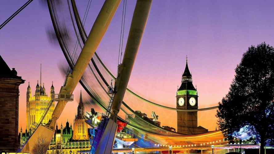 England London The Eye wallpaper