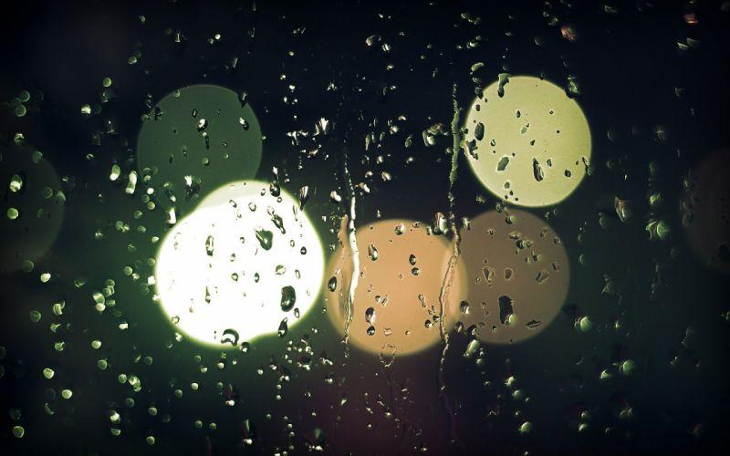 bokeh water drops rain drops wallpaper