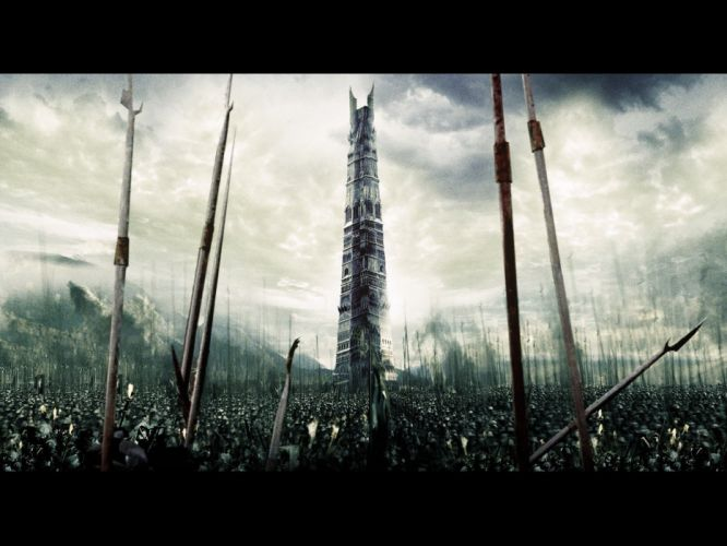movies The Lord of the Rings Isengard wallpaper