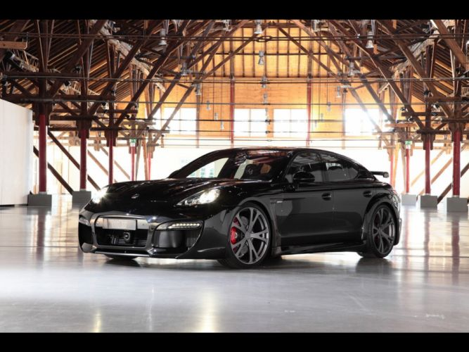cars Porsche Panamera TechArt wallpaper